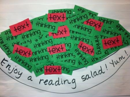 reading salad