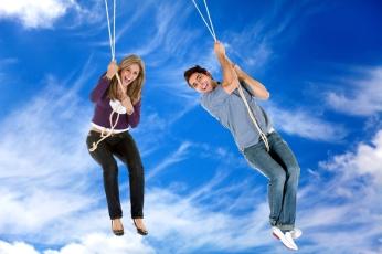 people hanging