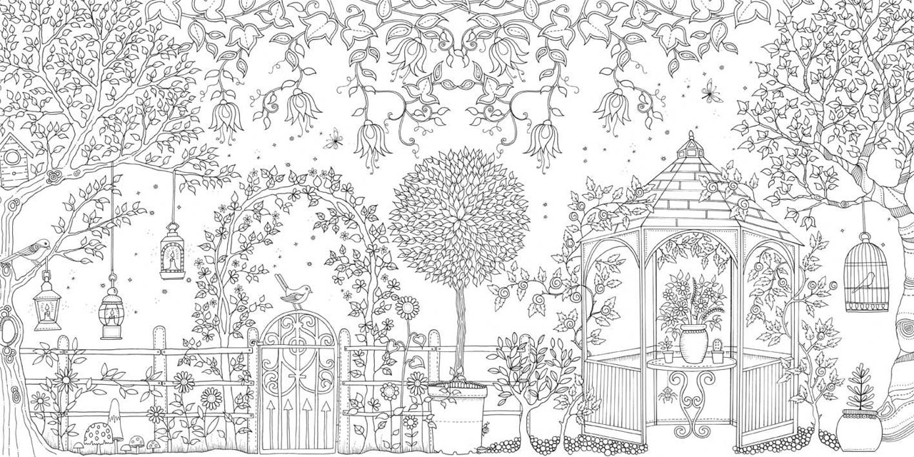 Adults colouring in books - Relaxing Colouring In Book 25
