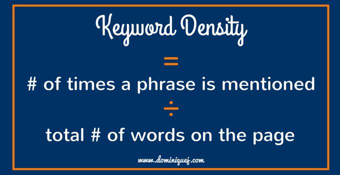 keyword-density-formula